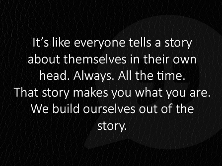 tell your own story